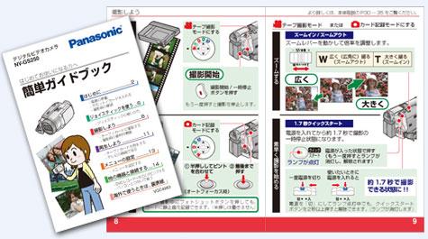 日本マニュアルコンテスト 2005年度家庭製品第2部門 部門優秀賞受賞作品